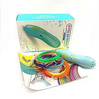 3D ручка на аккумуляторе с трафаретом 9901