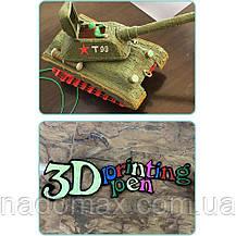 3D ручка на аккумуляторе с трафаретом 9901, фото 3