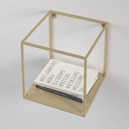 Полка настенная Abstra square TM Levantin Design, фото 2