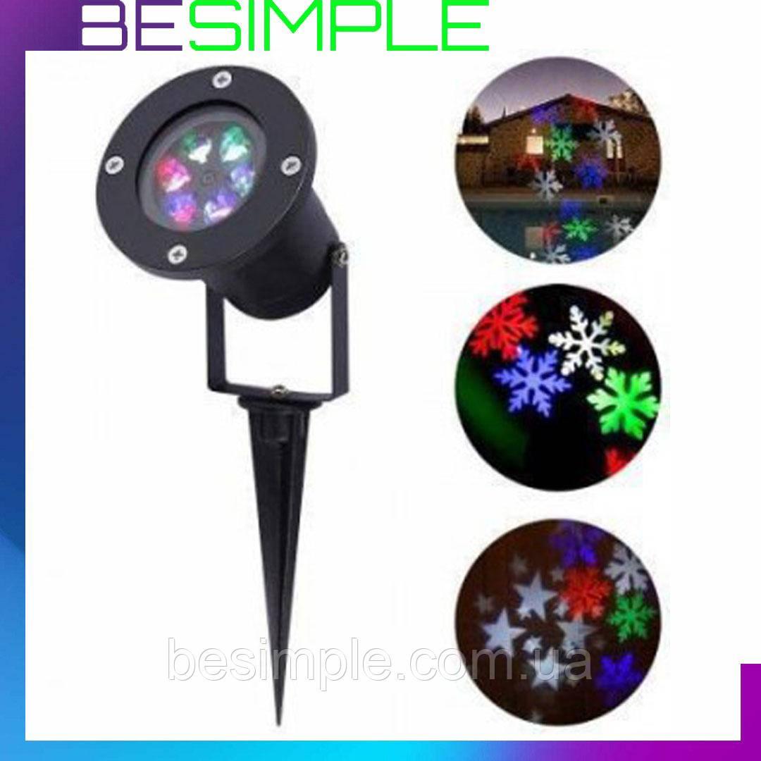 Уличный диско лазер LASER LIGHT SHOWER WITH STAND WL 602