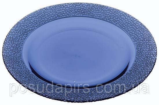 Тарелка синего цвета 270 мм Mosaic 10295SLc