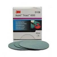 51130 Надтонкі абразивні диски Trizact 443 SA Hookit, діам.150 мм, Р6000  3М
