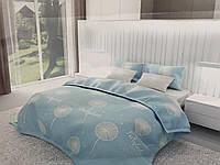 Полуторный комплект постельного белья 150х220 Ранфорс-хлопок 100% (16051)