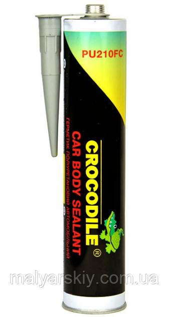 Герметик поліуретановий для швів PU-50 СІРИЙ 310мл  CROCODILE