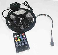 Лента RGB LED 5V 5050, с микрофоном, фото 1