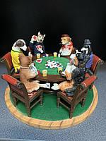 Коллекционная статуэтка Veronese Собаки играют в покер 76238YA, фото 1
