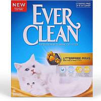 Бентонитовый наполнитель для лотков длинношерстных кошек Ever Clean Less Trail (6 л.)