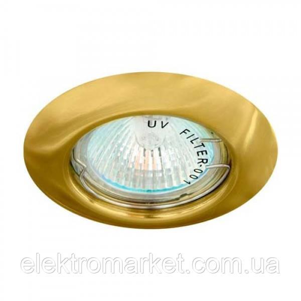 Встраиваемый светильник Feron DL13 золото