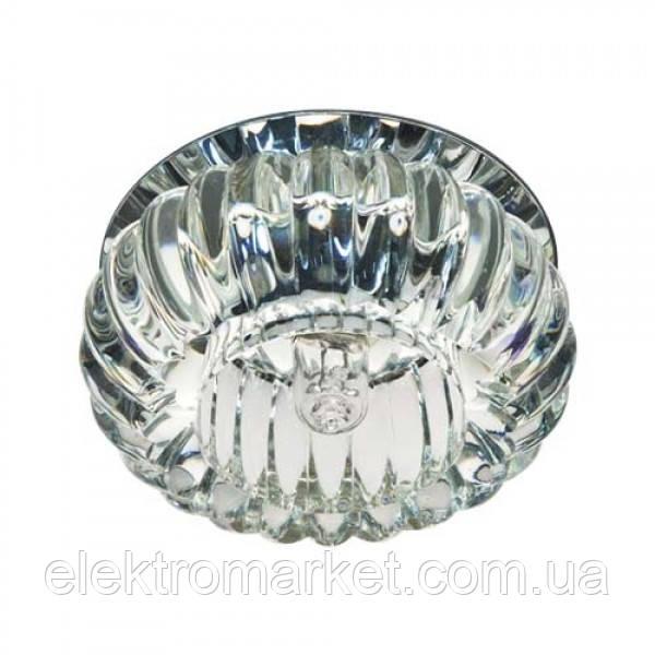 Встраиваемый светильник Feron C1010 прозрачный хром