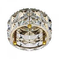Вбудований світильник Feron CD4527 прозорий золото