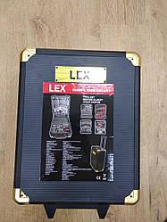 Набор инструментов LEX 186СС-2 : 186 предметов | Кейс-чемодан