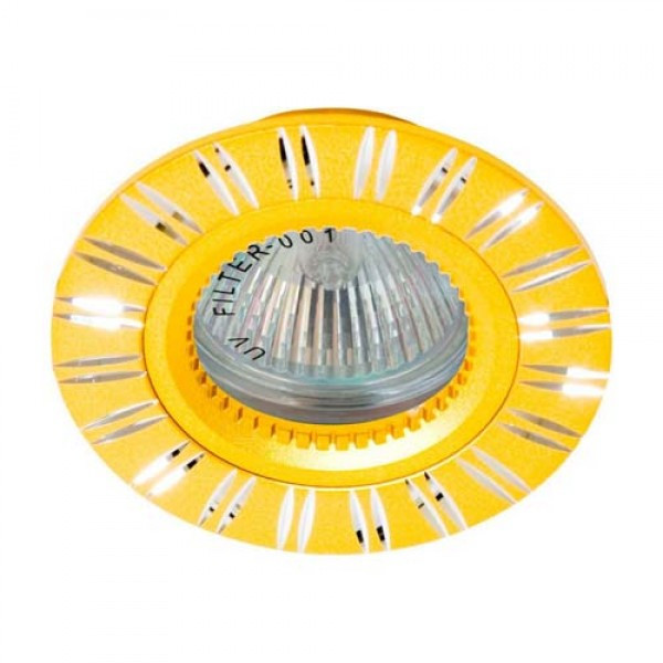 Встраиваемый светильник Feron GS-M393 золото