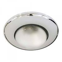Встраиваемый светильник Feron 2767 R-50 хром
