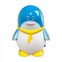 Светильник ночник Feron FN1001 пингвин синий