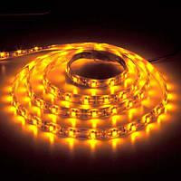 Світлодіодна стрічка Feron SANAN LS604 60SMD/м 12V IP65 жовтий