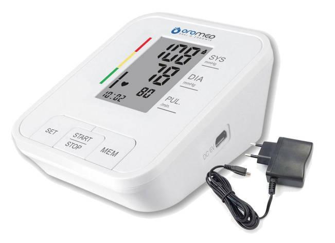 Тонометр автоматический с адаптером OROMED ORO-N4 CLASSIC-Z, фото 2