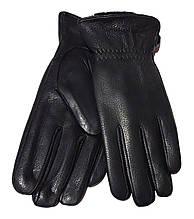 Чоловічі перчатки шкіра оленя, підкладка сітка шерсть (розміри 10,5-12,5)