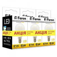 Світлодіодна лампа Feron LB-95 5W 2700K E14 3шт. в упаковці