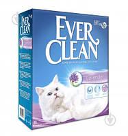 Комкующийся бентонитовый наполнитель Ever Clean Lavender для кошачьего лотка с ароматом лаванды (6 л.)