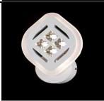 Светодиодное бра акрил SXX 8862/1B 26W WH LightM
