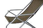 Кресло-шезлонг Novator SH-7 Brown, фото 8
