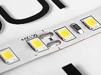 Світлодіодна стрічка 2835-120led-8mm-12V, IP20 подвійна плата білий