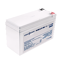 Аккумулятор мультигелевый AGM LogicPower LP-MG 12 - 7,5 AH, фото 1