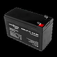 Аккумулятор кислотный AGM LogicPower LP 12 - 9,0 AH