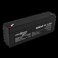 Аккумулятор кислотный AGM LogicPower LP 12 - 2,3 AH, фото 1