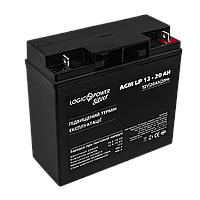 Аккумулятор кислотный AGM LogicPower LP 12 - 20 AH, фото 1