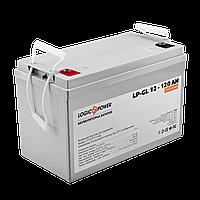 Аккумулятор гелевый  LP-GL 12 - 120 AH SILVER, фото 1