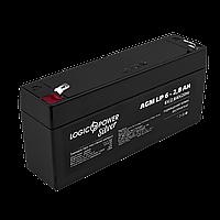 Аккумулятор AGM LP-6-2.8 AH SILVER, фото 1