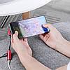 Адаптер-Переходник Type-C для зарядки телефона и подключения наушников Mini Jack 3.5мм MASSLINNA LA002 Red, фото 4