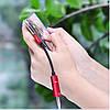 Адаптер-Переходник Type-C для зарядки телефона и подключения наушников Mini Jack 3.5мм MASSLINNA LA002 Red, фото 6