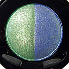 Тени для Век Meis MS 0102 Двухцветные Компактные с Аппликатором Тон 06 Цвета Зеленый, Синий Макияж Глаз, фото 3