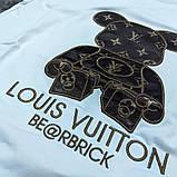 Мужская футболка Louis Vuitton CK1593 белая, фото 3