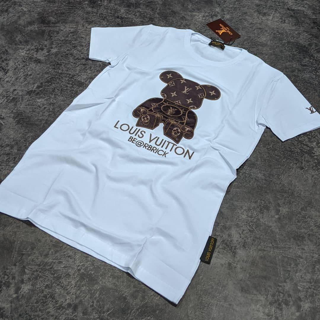 Мужская футболка Louis Vuitton CK1593 белая