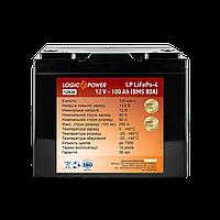 Аккумулятор LP LiFePO4 12V - 100 Ah (BMS 80A) пластик