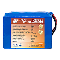 Аккумулятор LP LiFePO4 48V - 120 Ah (BMS 80A)