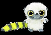 Мягкая игрушка Aurora Yoohoo Лемур желтый блестящие глазки 23 см 130089D