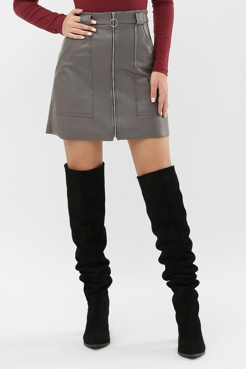 GLEM юбка мод. №50 (кожа)