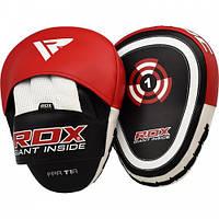 Лапы боксерские RDX Gel Focus Red, фото 1