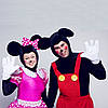 Микки и Минни Маусы.Аниматоры на детские праздники,Бровары.