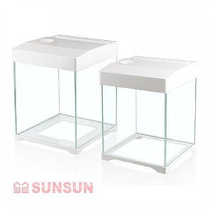 Акваріум з кришкою SunSun AT 250D 15 л, фото 2