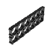Держатель (кронштейн) аккумуляторного блока 18650 1х2 (2 шт), фото 1