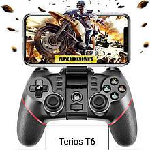 Джойстик геймпад Terios T 6 Bluetooth для Android, Ios, Tv, Tv Box, PC.