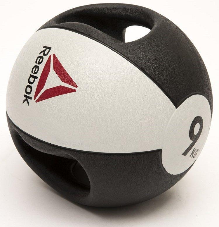 Медбол Reebok Double Grip Med Ball RSB-16129 - 9 кг