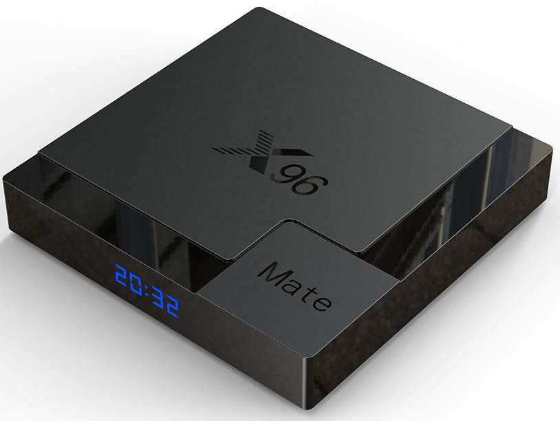 Приставка X96 Mate | 4/64 GB | Allwinner H616 | Android TV Box