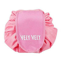 Косметичка-органайзер РОЗОВЫЙ Vely Vely