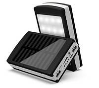 Power Bank powerbank 50000 mAh Solar LED   Повер Банк LED   Портативное зарядное устройство   Пауэр Солар